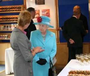 Queen visits Castle MacLellan Foods