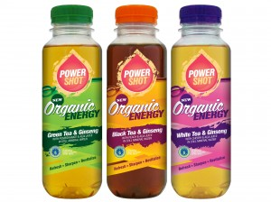 Powershot launches organic energy drinks