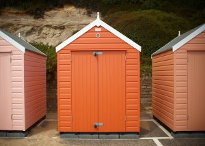 Sadolin gives Bournemouth beach huts a makeover in Superdec