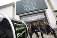 Marks & Spencer to push own brand