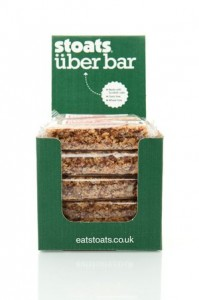 Stoats launches naturally sweet Uber porridge bar