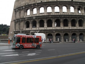 Italian retail group uses green vehicles for home deliveries in Rome