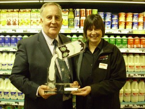 Two Spar stores scoop Wiseman National Champions Awards