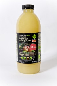Co-operative reintroduces heritage apple juice and boosts production