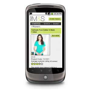 Retail apps and mobile web sites deliver value