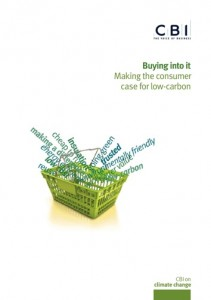 CBI: businesses must inspire shoppers to make low-carbon choices