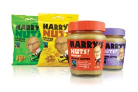 Liberation Foods adds Fairtrade peanut butter to Harry Hill range