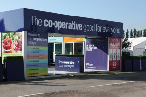 Co-op invests in 'village' stand to showcase group at summer fairs