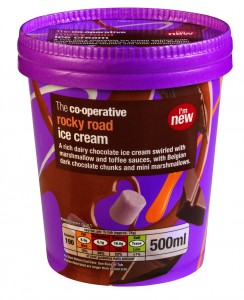 Co-operative extends own brand ice cream range