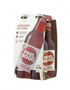 Feel Good Drinks launches four-pack bottle range in grocery