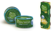 John West to launch pole and line caught tuna products