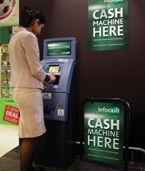 ATM supplier targets businesses in local radio ad campaign