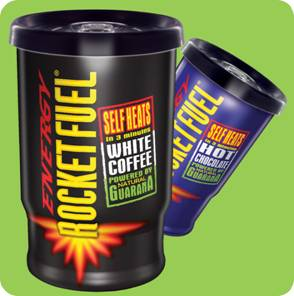 Food Brands relaunches Rocket Fuel self-heating coffee cups