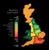 One third of UK businesses would relocate to cut costs, finds study