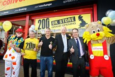 Pawnbroker, Cash Converters, opens 200th UK store and plans 50 more