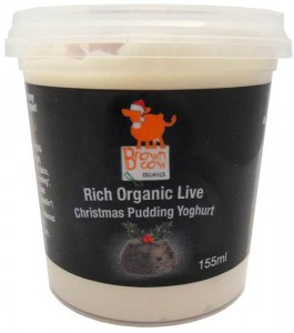 Brown Cow Organics launches Christmas pudding yogurt