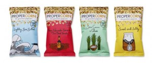 New popcorn brand, Propercorn, wants to stand out from crowd