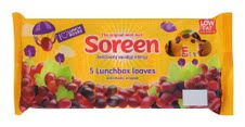 Soreen manages portion control with new lunchbox loaves