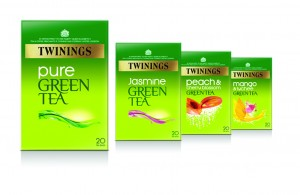 Twinings relaunches green tea range with new blends and packaging