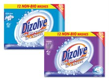 Sainsbury's, Morrisons and Waitrose list Dizolve laundry detergent sheets
