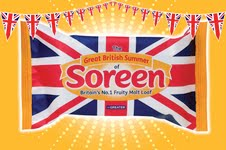 Soreen to launch limited edition Union Jack pack in summertime campaign
