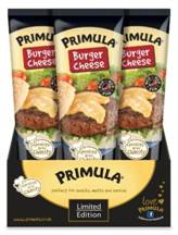 Primula targets National Barbecue Week with limited edition Burger Cheese