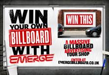 Energy drink, Emerge, offers independent stockists billboard prize opportunity