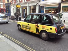 Hotpants brand, Zaggora, moves offline to promote range on London taxis