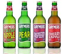 Gaymers Cider targets social occasions with brand relaunch and new flavours