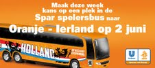 Spar Netherlands offers shoppers chance to see Holland vs Ireland friendly