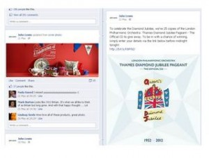 Jubilee drives fans in ChannelAdvisor's UK Facebook Commerce Index in May