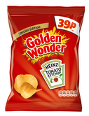 Golden Wonder ties with Heinz to launch Tomato Ketchup and HP sauce flavours