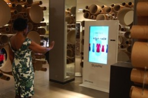 John Lewis trials two virtual fashion mirrors at Oxford Street flagship