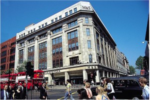 Marks & Spencer launches contactless payment in top London stores