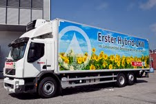 Spar Switzerland heralds new era in logistics with first full hybrid truck