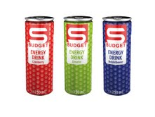 Spar Austria launches new energy drinks under S Budget value own label