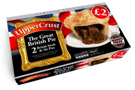 UpperCrust launches celebration Great British Pie in Morrisons' stores