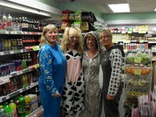 Spar Trethomas store hosts pyjama day to raise funds for Help for Heroes