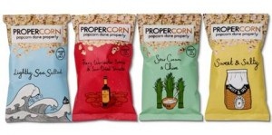 Propercorn reports pack sales top 1m in first year and plans further expansion