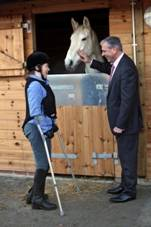 Primula parent, The Kavli Trust, donates £25,000 to disabled riding centre