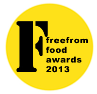 Deadline for entry in the 2012 FreeFrom Food Awards is fast-approaching