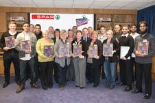 Spar recruits account managers to retail team and celebrates training in Scotland
