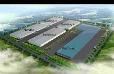 Wal-Mart builds new logistics park in Tianjin, China, in collaboration with Gazeley