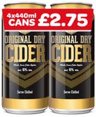 Spar UK revamps own brand cider range to capture growing convenience sales