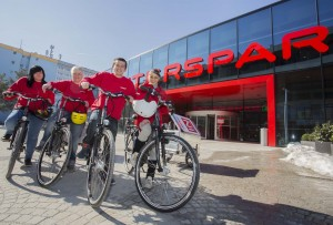 Spar Austria offers green home delivery with in-store lockers, boxes and e-bikes
