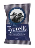 Tyrrells adds Aristo-Crackling hand-cooked pork crackling snacks in two flavours