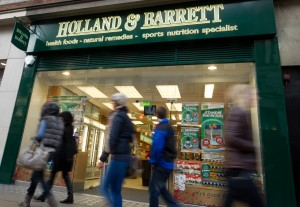 Holland & Barrett launches first free from concept store today and plans 50 more