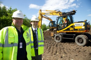Retail contractor, Barr Construction, starts work on new Tesco store in Ayrshire