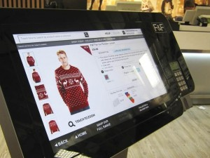 Tesco trials transactional in-store kiosks for F+F clothing range with Venda