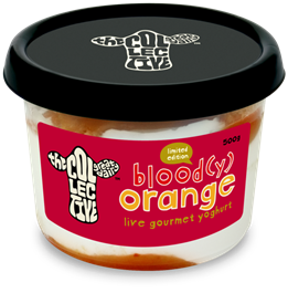 Gourmet yogurt maker, The Collective, launches Blood(y) Orange limited edition